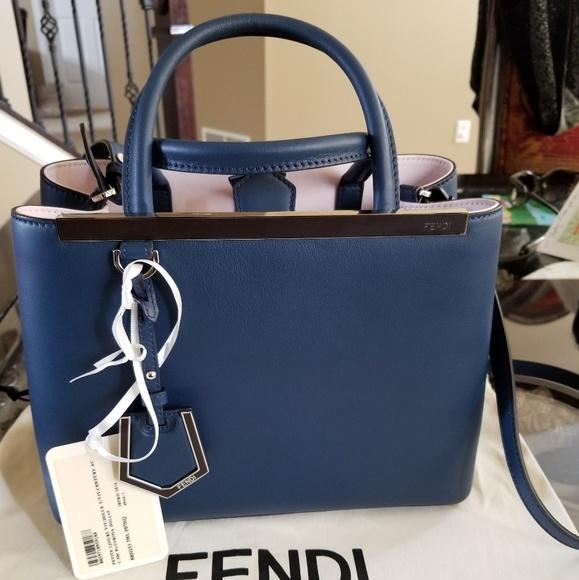 Fendi Handbags - Black Friday! Fendi Petite 2Jours Like New! 499985c793